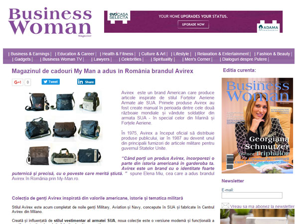 BusinessWoman - Gentile Avirex