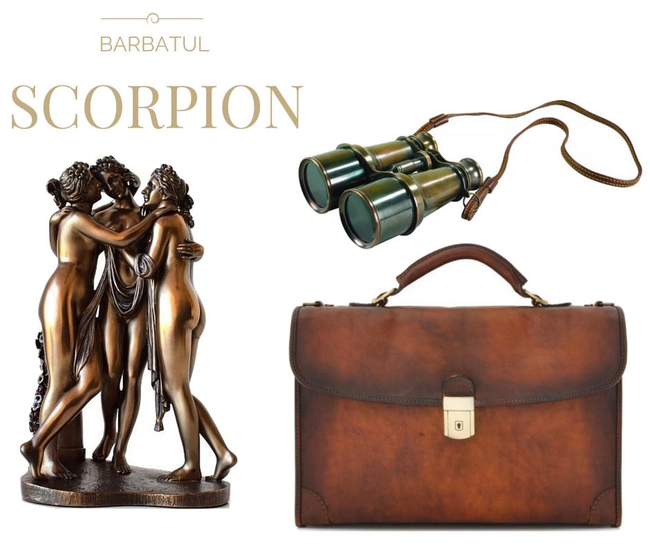 Idei de cadouri pentru barbatii Scorpion