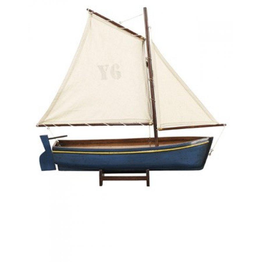 macheta barca cu panze