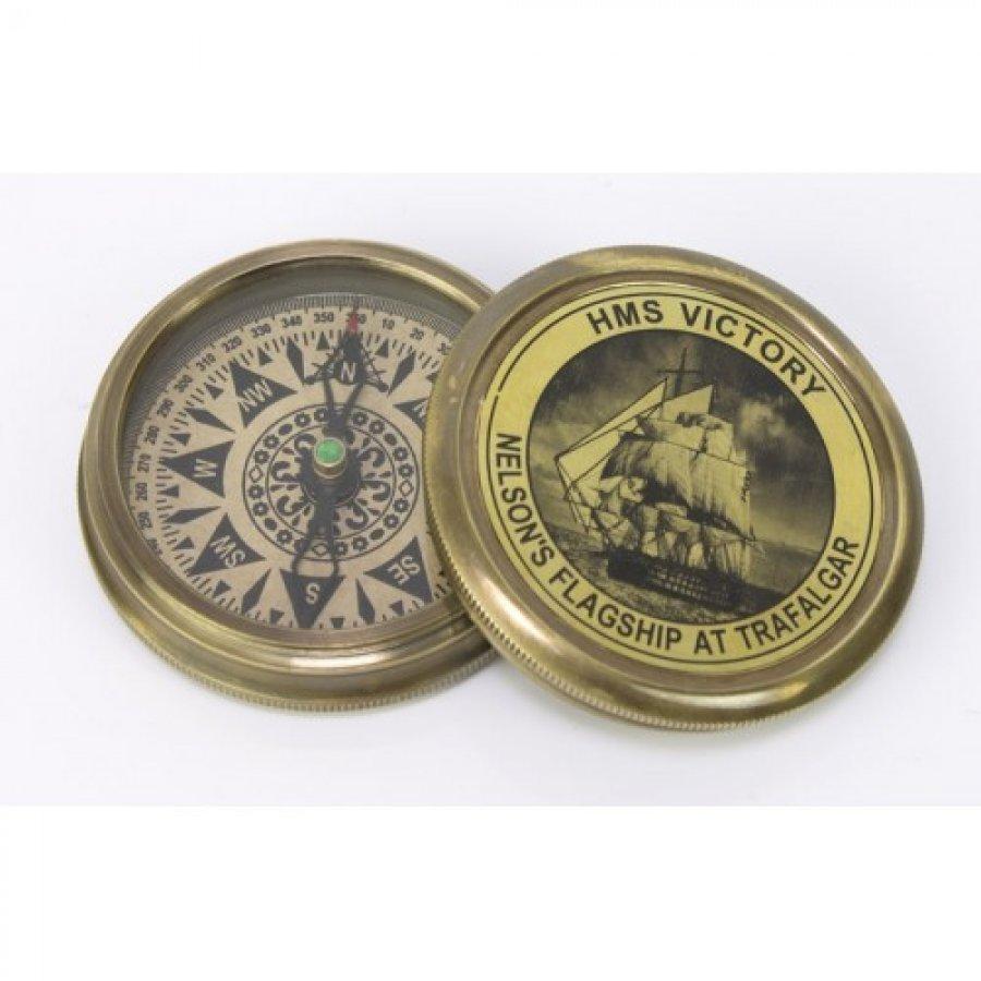busola-hms-victory-bronz-aspect-vintage