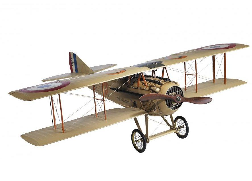 replica-avion-batranul-charles-decoratiune-retro