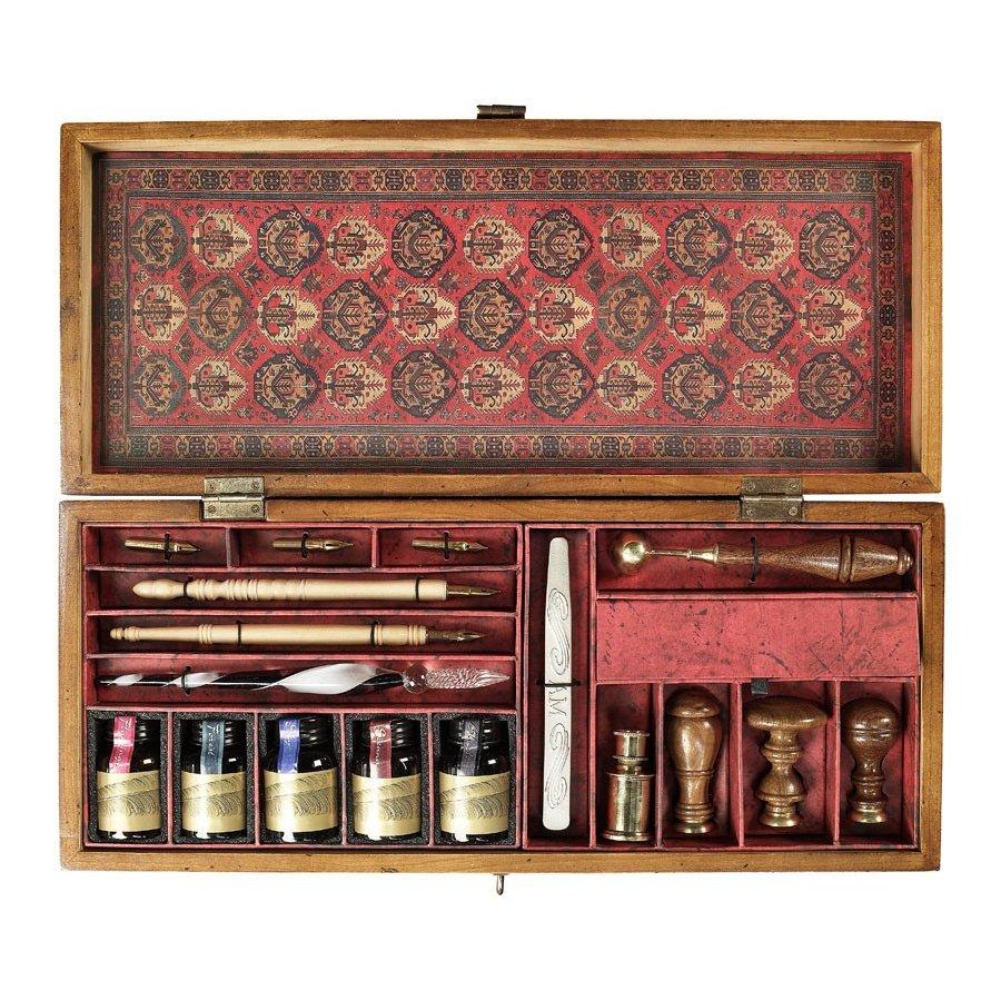 set-de-scris-cu-accesorii-vintage