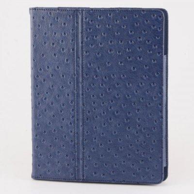 Cadouri corporate: Husa tableta din piele (albastru)