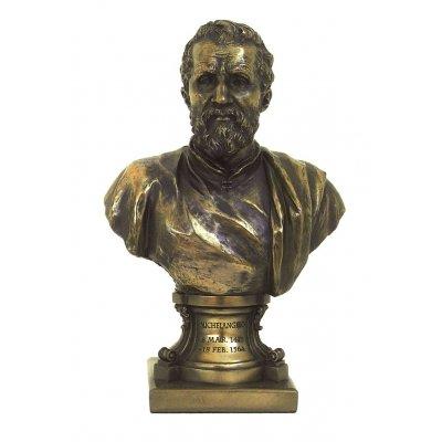 """Bust """"Michelangelo"""", statueta bronz"""
