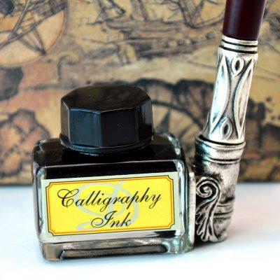 """Cadouri: Set de scris """"Old writing"""" cu stilou si calimara"""