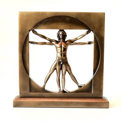 Cadouri: Statueta Vetruvian by Leonardo da Vinci