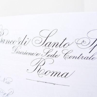 Album de caligrafie, scriere veche