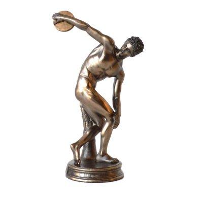 """""""Discobolul"""" de Miron, statueta bronz"""