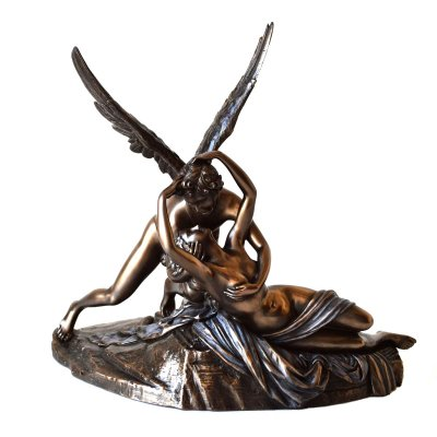 "Statueta ""Cupidon si Psyche"" de Canova"