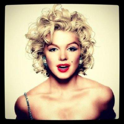 """Ceas pe disc de vinil model """"Marilyn Monroe"""""""
