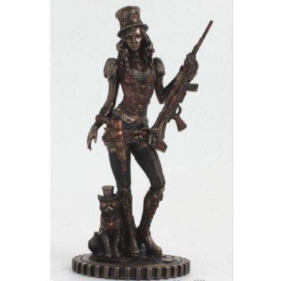 Statueta rasina si bronz 'Neinfricata'