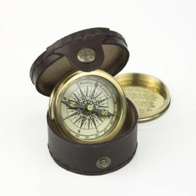 Busola Robert Frost, bronz in cutie cadou