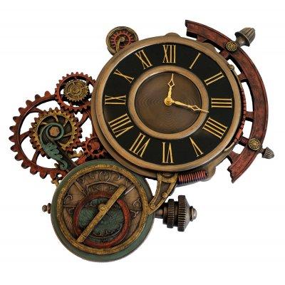 Ceas steampunk astrolab