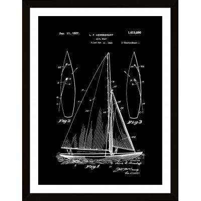 Inventica-barca cu panze
