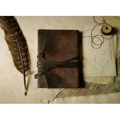 Jurnal medieval din piele