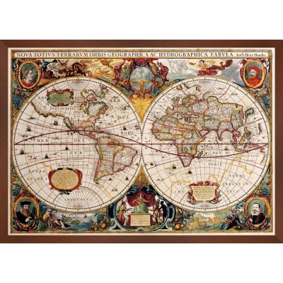Harta lumii din 1641