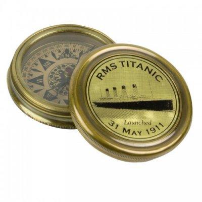 Busola tribut, Titanic, bronz, in cutie cadou