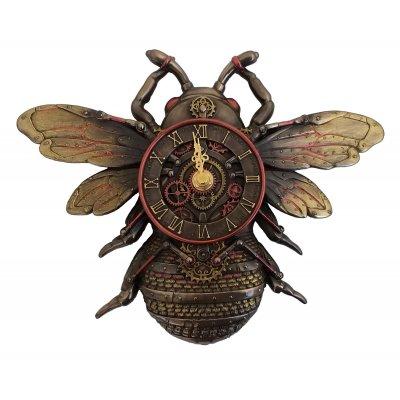 Ceas de perete steampunk, Albina