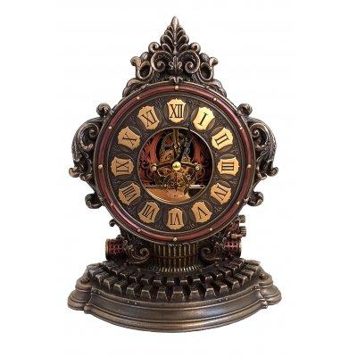 Ceas de birou steampunk, masina de scris