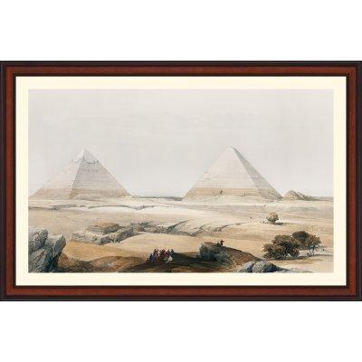 """Tablou """"Piramidele din Geezeh"""""""