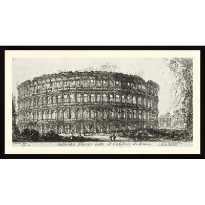 """Tablou """"Anfiteatro Flavio detto il Colosseo in Roma"""""""