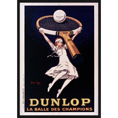 """Tablou """"Dunlop la balle des champions"""""""