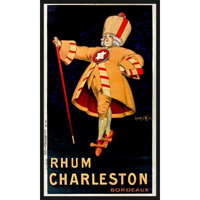 "Tablou ""Rhum Charleston Bordeaux"""
