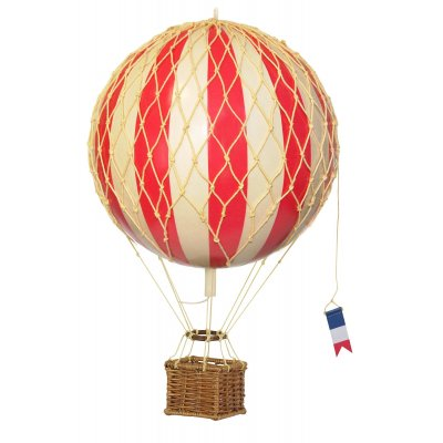 "Decoratiune balon zburator ""Travels light"" -true red"