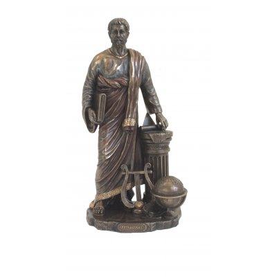 Statueta rasina si bronz, Pitagora