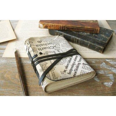 Jurnal medieval, piele, model ziar