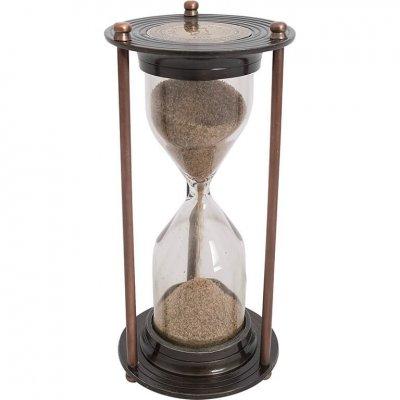 Clepsidra bronz 'Old sand watch 1818'