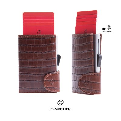 Portofel C-secure, dublu
