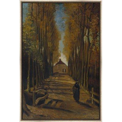 "Tablou ""Bulevard cu plopi toamna"" Vincent Van Gogh"