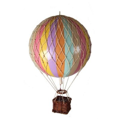 Decoratiune balon zburator - Floating the sky, rainbow