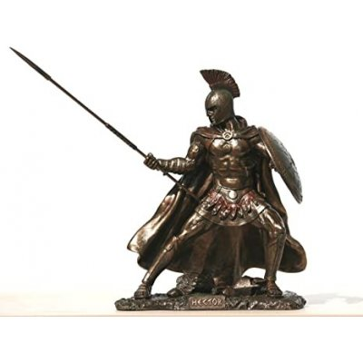 Statueta Hector, rasina si bronz