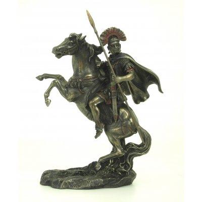 Statueta rasina si bronz, Alexandru cel Mare