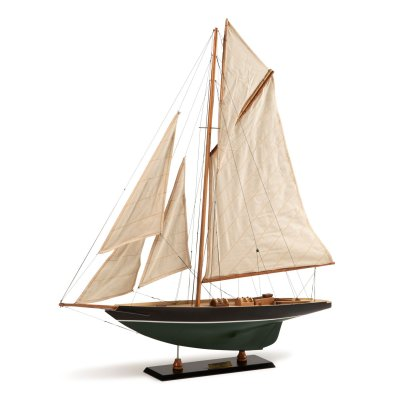 Macheta yacht de curse Pen Duick, 1898
