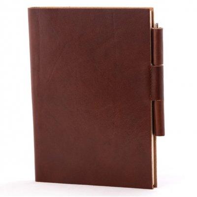 Notes -agenda autodatata 2021, Montana maro, piele naturala