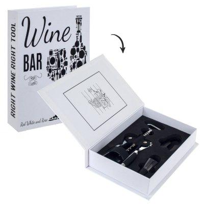 Set accesorii vin, model carte