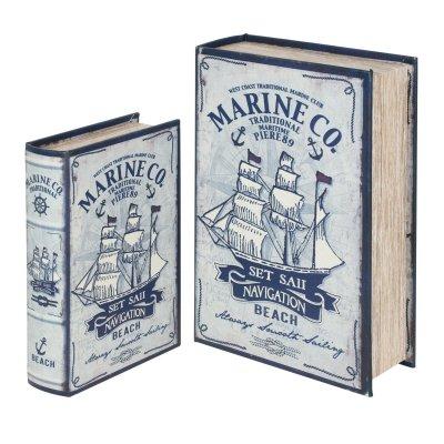 Set cutii, model maritim