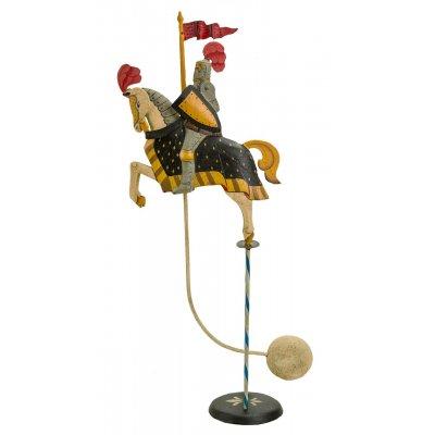 "Decoratiune metal cu balans ""Cavaler medieval"""