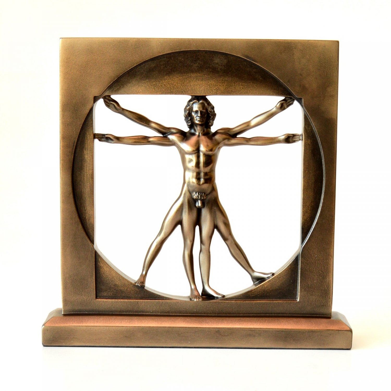 Statueta Vetruvian by Leonardo da Vinci