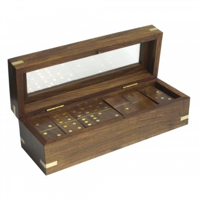Joc Domino in cutie de lemn