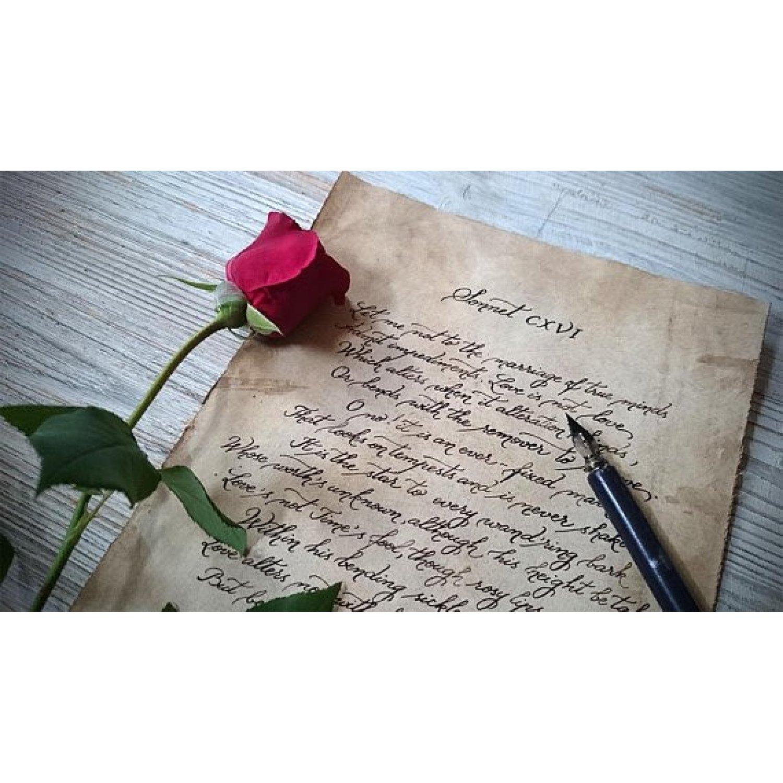 Scrisoare scris caligrafic in plic