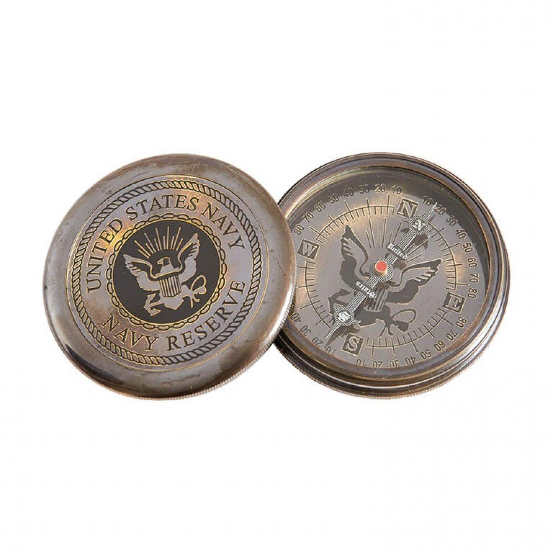 Busola US Navy, bronz