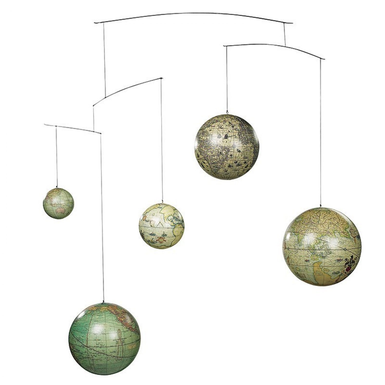 Decoratiune tavan cu 5 globuri