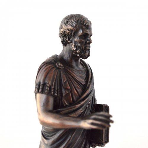 Aristotel, statueta bronz