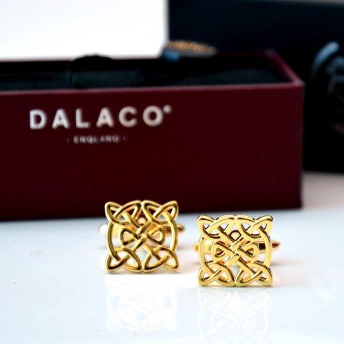 Set butoni, model celtic, aurii