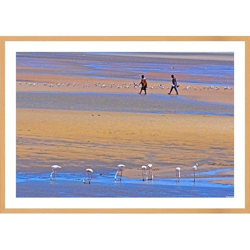 Tablou Flamingo Oceanul Indian (mediu)