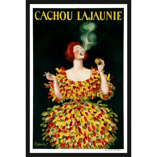 """Tablou poster """"Cachou Lajounie"""""""